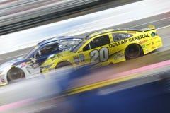 NASCAR :10月30日好吃的东西的快速的安心500 免版税库存照片