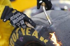 NASCAR :10月30日好吃的东西的快速的安心500 库存图片