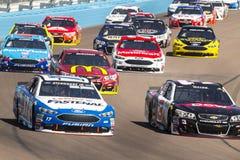 NASCAR :500 3月13日好山姆 免版税图库摄影
