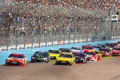 NASCAR :500 3月13日好山姆 库存照片
