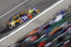 NASCAR :10月22日好莱坞赌博娱乐场400 图库摄影