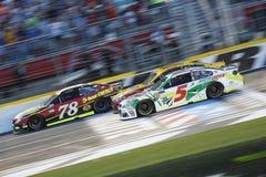 NASCAR :5月20日妖怪能量NASCAR全明星种族 库存照片