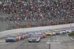 NASCAR :3月05日折叠荣誉QuikTrip 500 图库摄影