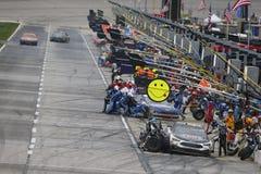 NASCAR :3月05日折叠荣誉QuikTrip 500 库存照片