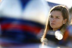 NASCAR :3月03日折叠荣誉QuikTrip 500 库存图片