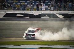 NASCAR :2月20日机敏的今天佛罗里达300 免版税库存照片