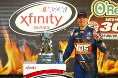 NASCAR :4月08日欧莱礼汽车零件300 免版税库存图片