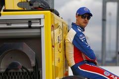 NASCAR :3月16日汽车俱乐部400 库存照片