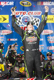 NASCAR :3月23日汽车俱乐部400 库存图片