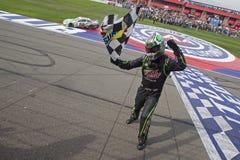NASCAR :3月23日汽车俱乐部400 免版税库存照片