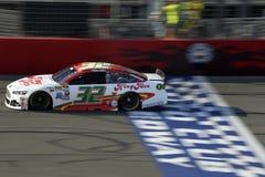 NASCAR :3月21日汽车俱乐部400 库存图片
