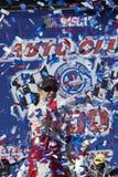 NASCAR :3月22日汽车俱乐部400 免版税库存照片