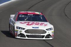 NASCAR :3月21日汽车俱乐部400 免版税图库摄影