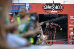 NASCAR :7月07日焦炭零的糖400 免版税库存照片