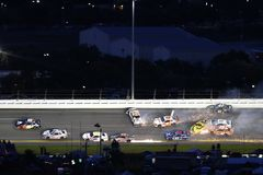 NASCAR :7月07日焦炭零的糖400 库存图片