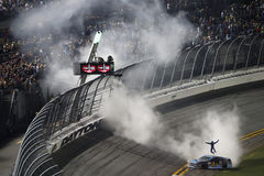 NASCAR :7月01日焦炭零400优胜者 免版税库存照片