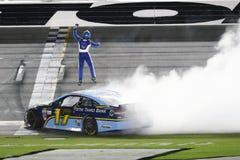 NASCAR :7月01日焦炭零400优胜者 库存图片