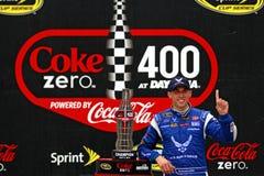 NASCAR :7月06日焦炭零400 免版税库存图片