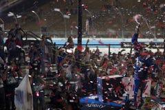 NASCAR :11月12日票星系200 免版税库存照片