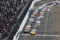 NASCAR :10月29日第一数据500 免版税库存照片