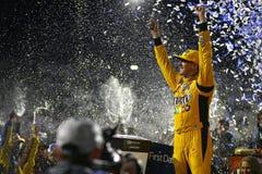 NASCAR :10月29日第一数据500 免版税库存图片