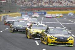 NASCAR :500 10月08日美国银行 库存图片
