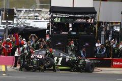 NASCAR :500 10月08日美国银行 免版税库存照片