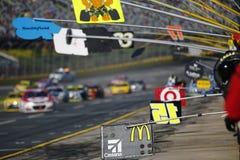 NASCAR :500 10月09日美国银行 图库摄影