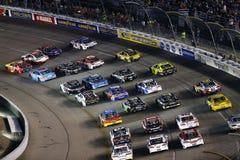 NASCAR :9月09日联盟的汽车零件400 免版税图库摄影
