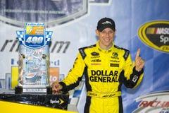 NASCAR :9月13日联盟的汽车零件400 库存图片