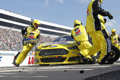 NASCAR :400 5月31日联邦快递公司有益于的孤独性讲话 免版税库存图片