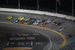 NASCAR :2月15日能是决斗 库存照片