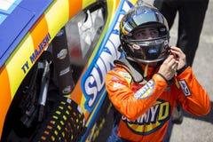 NASCAR :4月13日菲茨杰拉德滑翔机成套工具300 库存图片