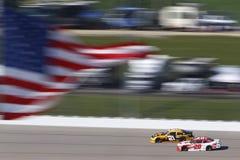 NASCAR :250 6月17日衣阿华 免版税库存照片