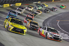 NASCAR :4月19日食物城市500 库存图片