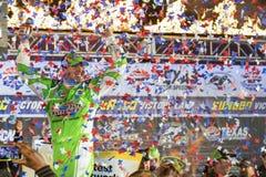NASCAR :4月10日鸭子500司令员 库存图片