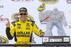 NASCAR :400 5月15日AAA有益于的孤独性讲话 免版税库存图片