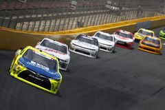 NASCAR :300 5月26日Alsco 图库摄影