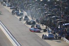 NASCAR :9月03日Bojangles `南部500 免版税库存图片
