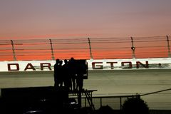 NASCAR :9月03日Bojangles `南部500 库存照片