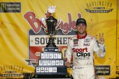 NASCAR :9月03日Bojangles `南部500 免版税库存照片