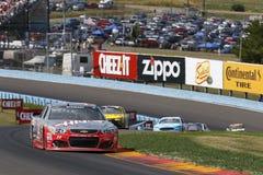NASCAR :8月07日Cheez它350在幽谷 图库摄影