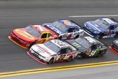 NASCAR :300 2月22日DRIVE4COPD 免版税库存照片