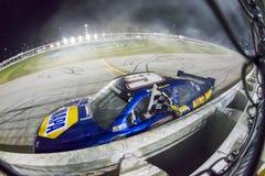 NASCAR :7月19日EnjoyIllinois com 300 免版税库存图片