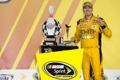 NASCAR :5月07日GoBowling com 400 图库摄影