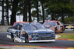 NASCAR :180 8月27日Johnsonville 图库摄影