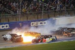 NASCAR :5月12日KC杰作400 免版税库存照片