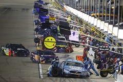 NASCAR :5月12日KC杰作400 免版税库存图片