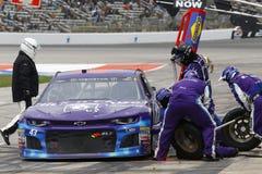 NASCAR :4月08日O ` Reilly汽车零件500 免版税图库摄影