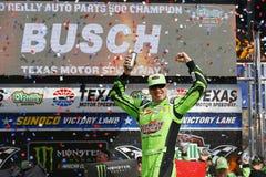 NASCAR :4月08日O ` Reilly汽车零件500 图库摄影